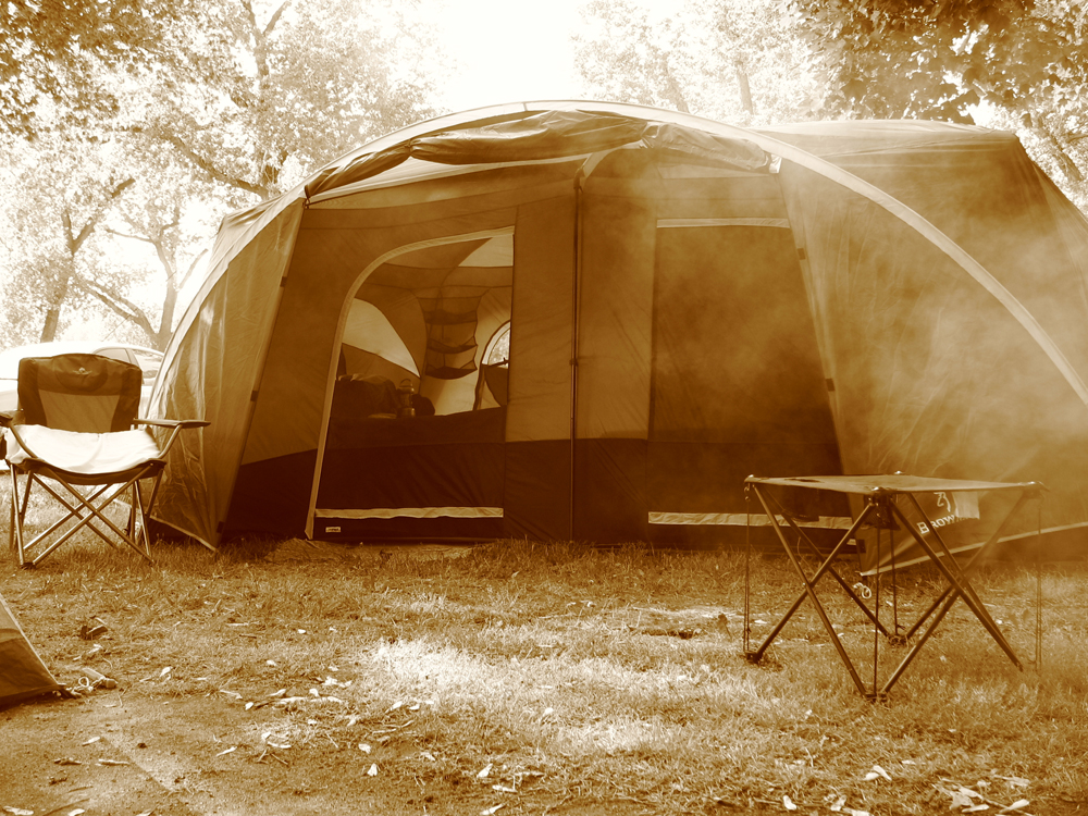 Camping, the good ol days